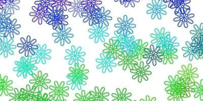 layout natural luz multicolor vetor com flores.