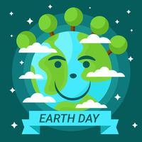 Dia da Terra 22 de abril Vector