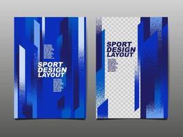 layout de design de esporte, design de modelo, histórico de esporte, pôster dinâmico, faixa de velocidade de escova, ilustração vetorial. vetor