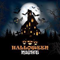 design de festa de halloween vetor