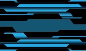abstrato azul circuito cyber line pattern design ilustração em vetor fundo tecnologia futurista moderna.