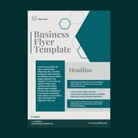 modelo de panfleto de negócios vetor
