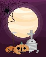 personagens de celebração de halloween
