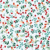 perfeita flor e folha de cereja adorável fofa