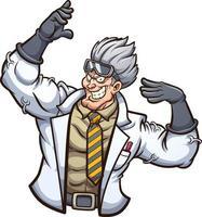 forte cientista do mal