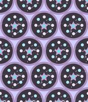 grunge colorido sem costura padrão geométrico