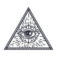 todos vendo olho no triângulo