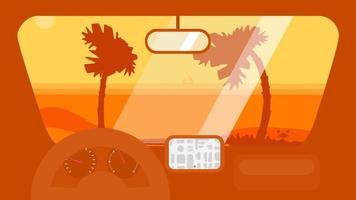 viagem de verão no carro