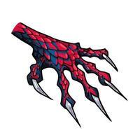 pata de dragão ou monstro