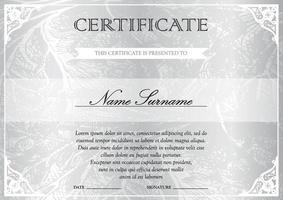 modelo de certificado e diploma