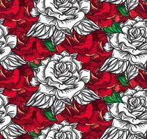 padrão de costura rosa de casamento