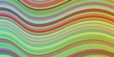 luz padrão multicolorido de vetor com curvas.