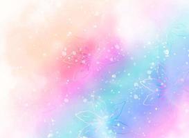 fundo floral colorido abstrato vetor