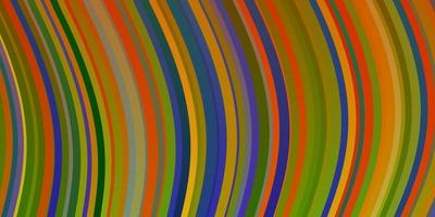textura leve vetor multicolor com arco circular.