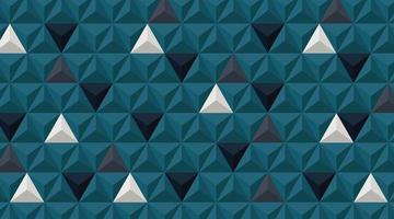 fundo da parede. design de forma de triângulo 3D realista. ilustração vetorial vetor