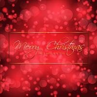 Bokeh ilumina o Natal e ano novo fundo vetor