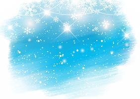 Fundo Aquarela de Natal vetor