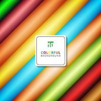 faixa abstrata padrão diagonal gradientes coloridos cor de fundo com espaço para seu texto. vetor