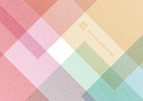 fundo de cor pastel padrão geométrico abstrato com textura de pontos. vetor