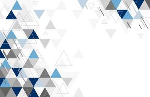 desenho de fundo geométrico abstrato de ilustração vetorial de triângulo vetor