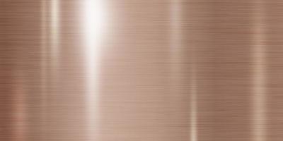 ilustração vetorial de fundo de textura de metal de cobre vetor