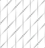 padrão geométrico abstrato sem emenda. linhas pontilhadas elegantes vetor