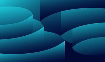 fundo geométrico gradiente abstrato moderno. adequado para papel de parede, banner, plano de fundo, cartão, ilustração de livro, página de destino, presente, capa, folheto, relatório, negócios, mídia social, vetor