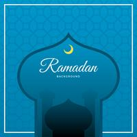 Plano de fundo vector ramadan