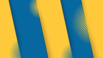 gráfico futurista de meio-tom moderno abstrato. projeto da textura do fundo abstrato do vetor. cartaz de meio-tom brilhante. ilustração em vetor banner meio-tom