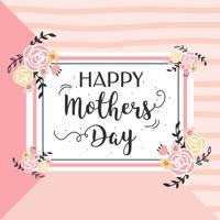 Vetor de dia das mães