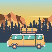 Viajantes viajam ao redor do mundo vetor