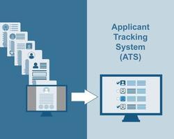 retoma a transformação com ats - vetor do sistema de rastreamento do requerente