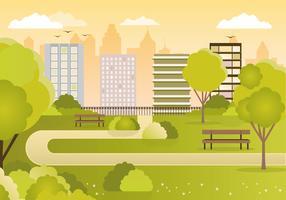 Vector Cityscape Ilustração