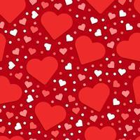 amor coração padrão sem emenda