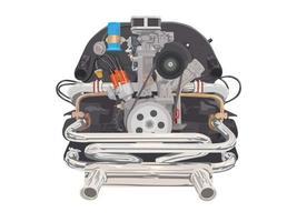 ilustração gráfica do motor do carro vetor