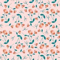 padrão sem emenda de flor de laranjeira. estampa floral.