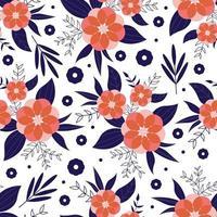 elegância floral padrão sem emenda. conceito de padrão de primavera.