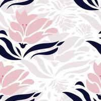 padrão de orquídea rosa sem emenda. estampa floral.
