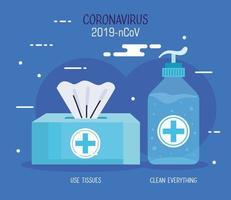 campanha de prevenção de coronavírus