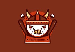 Vetor de mascote de beisebol