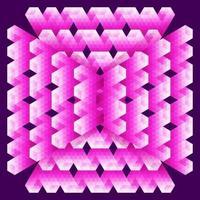 cartão geométrico abstrato vetor