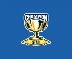Campeão 8 vetor