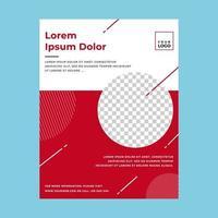pôster modelo minimalista vetor