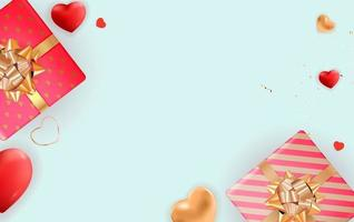 design de plano de fundo do dia dos namorados. modelo para anúncios de publicidade, web, mídia social e moda. cartaz, folheto, cartão de felicitações, cabeçalho para ilustração vetorial do site vetor