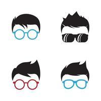 imagens do logotipo geek vetor