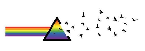 silhuetas de pássaros voando papel de parede padrão. ilustração vetorial. pássaro isolado voando. desenho de tatuagem. modelo para cartão, pacote e papel de parede. vetor