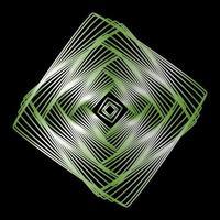 elementos de design de linhas geométricas. vetor