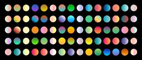 nova tendência de gradiente. cores perfeitas para design. vetor. vetor