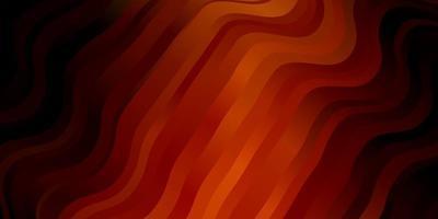 modelo de vetor laranja escuro com linhas irônicas.
