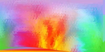 luz de fundo poligonal do vetor multicolor.